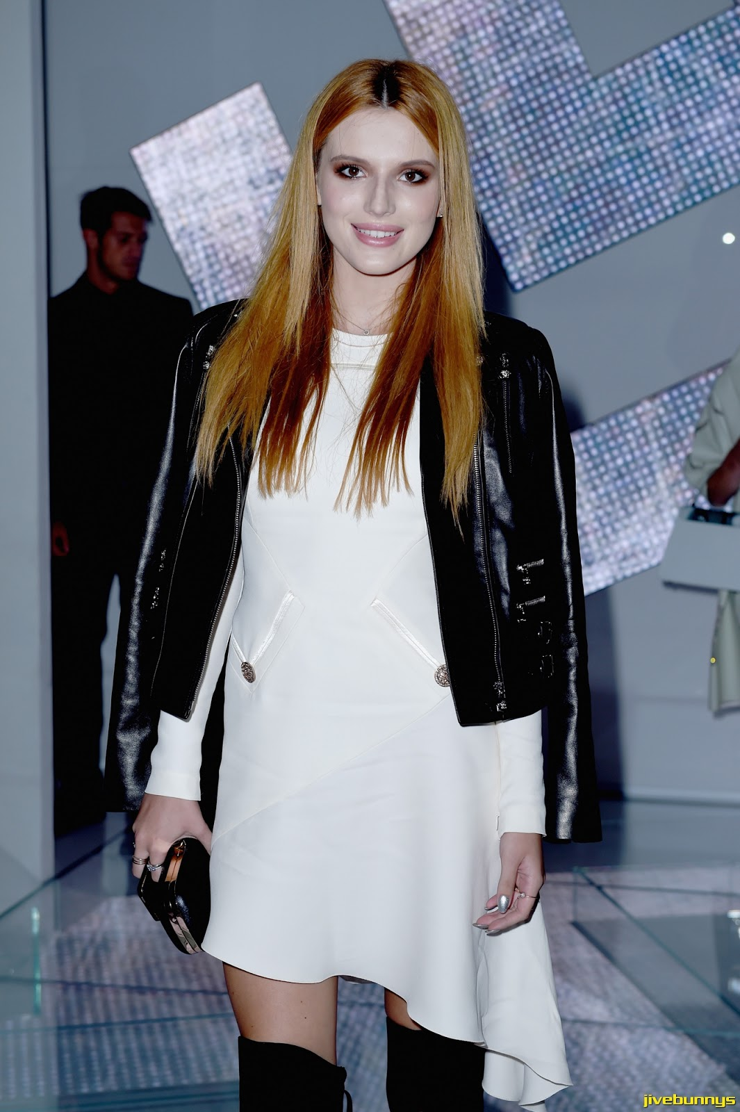 Bella Thorne - Versace show in Milan 9/19/14
