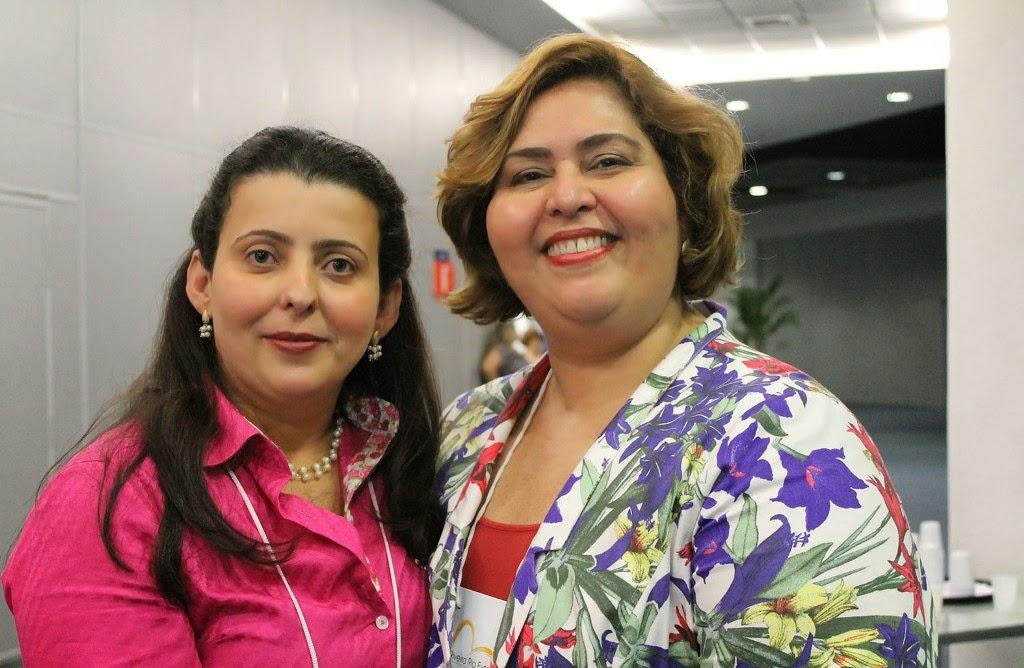 Professora Gabriella Freidman Mattos e Iracema Teixeira, Presidente da Sociedade Brasileira de Sexualidade Humana