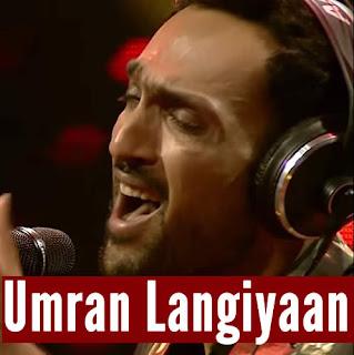 Umran Langiyaan - Ali Sethi & Nabeel Shaukat
