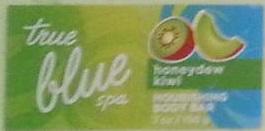 New- Honeydew Kiwi and Raspberry True Blue Soap