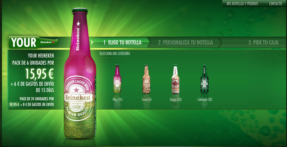 marketing and heineken The timeline shows advertising spending of the heineken holding in the united  states from 2012 to 2016  media & advertising advertising & marketing .