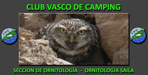 Club Vasco de Camping    Sección de Ornitología