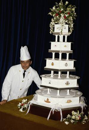 The Marriage of Prince Charles and Lady Diana Spencer (2): The wedding cake