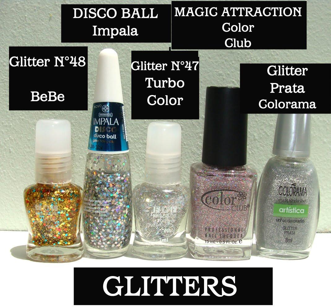 Esmaltes de Julie: Efectos vs Glitters