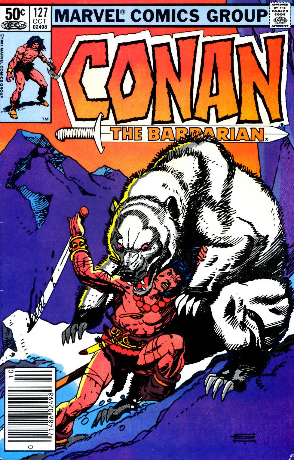 Conan the Barbarian (1970) Issue #127 #139 - English 1
