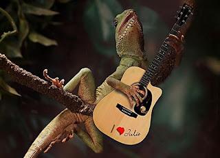 Funny Iguana