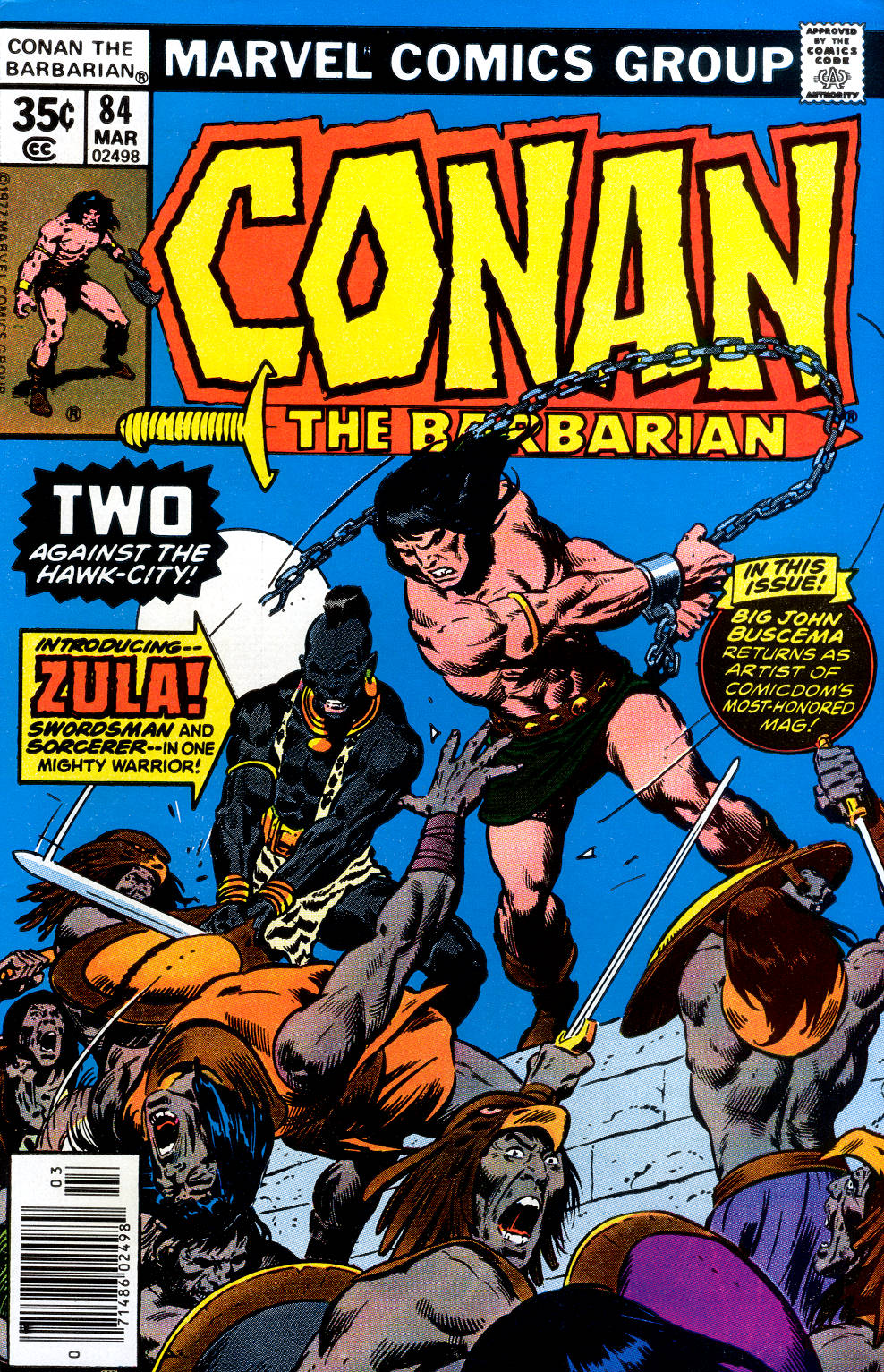 Conan the Barbarian (1970) 84 Page 1