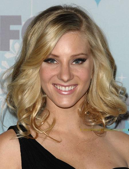 Heather Morris Big & Sexy Hairstyles