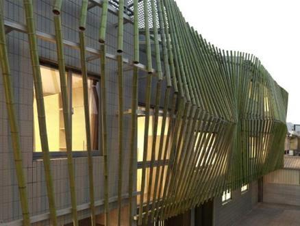 Secondary Skin Facade Bamboo