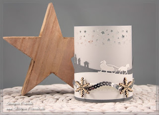 Weihnachts-Dekoration, Stampin Up