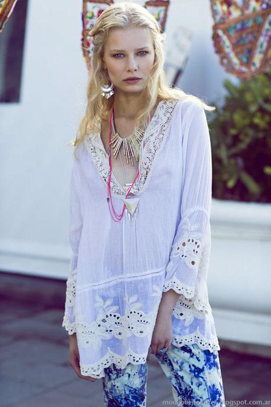 India Style primavera verano 2014 túnicas.