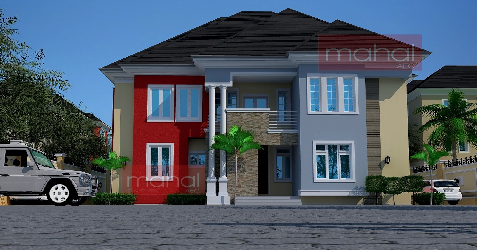Contemporary Nigerian Residential Architecture Anyi Jaf