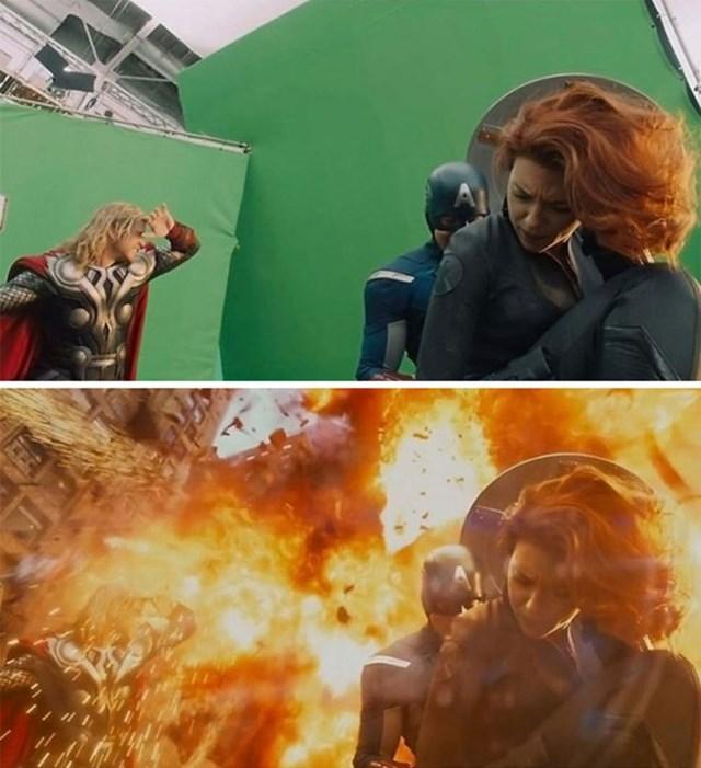 công nghệ dựng cảnh phim