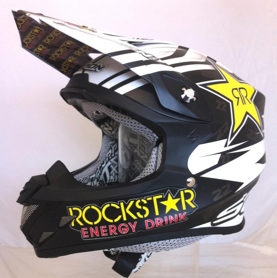 racing helmets garage scorpion vx 20 air d ferrandis 2013 by aerodiffusion. Black Bedroom Furniture Sets. Home Design Ideas