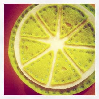 instagram libbyjb citrus felt coaster