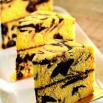 Resep Marble Cake Kukus