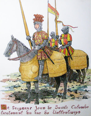 Honour Guard of Cesare Borgia.