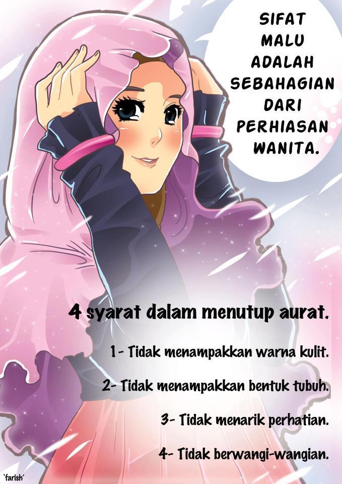 Gambar Kartun Nasehat Muslimah