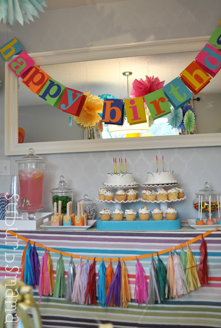 Kids Craft Birthday Party