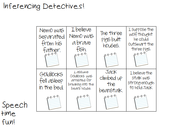 Inferencing Detectives Fun – Inferring Worksheets