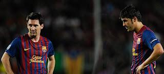 La relación de Messi y Villa es cero, nula