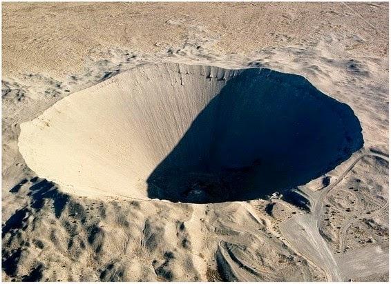Jom Lihat Tapak Ujian Nuklear Yang Membentuk Kawah Besar
