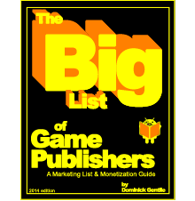 The Big List of Game Publishers