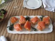 Salmon House Werner: Lachsprobierpaket + 200 g Rotholz-Lachs, 200 g Natur Lachs, 200 g Honig Limett