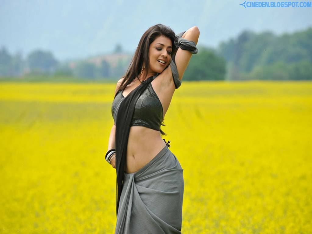 Kajal Agarwal's tough look - CineDen