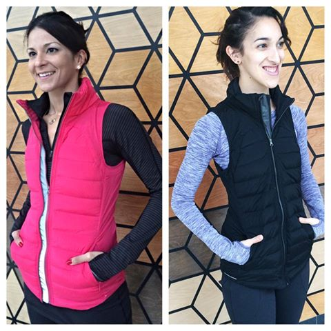 lululemon fluffed up vest