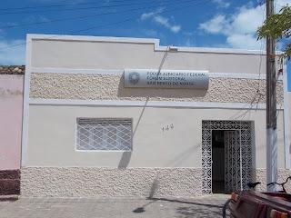 PODER JUDICIÁRIO FEDERAL – FÓRUM ELEITORAL – SÃO BENTO DO NORTE/RN (84) 3260-2209