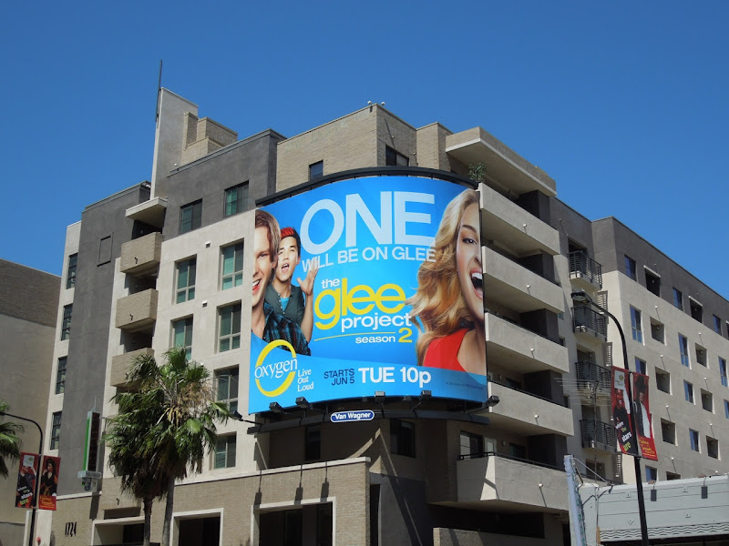 The Glee Project season 2 billboard