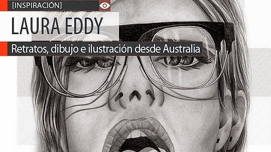 Retratos, dibujo e ilustración de LAURA EDDY