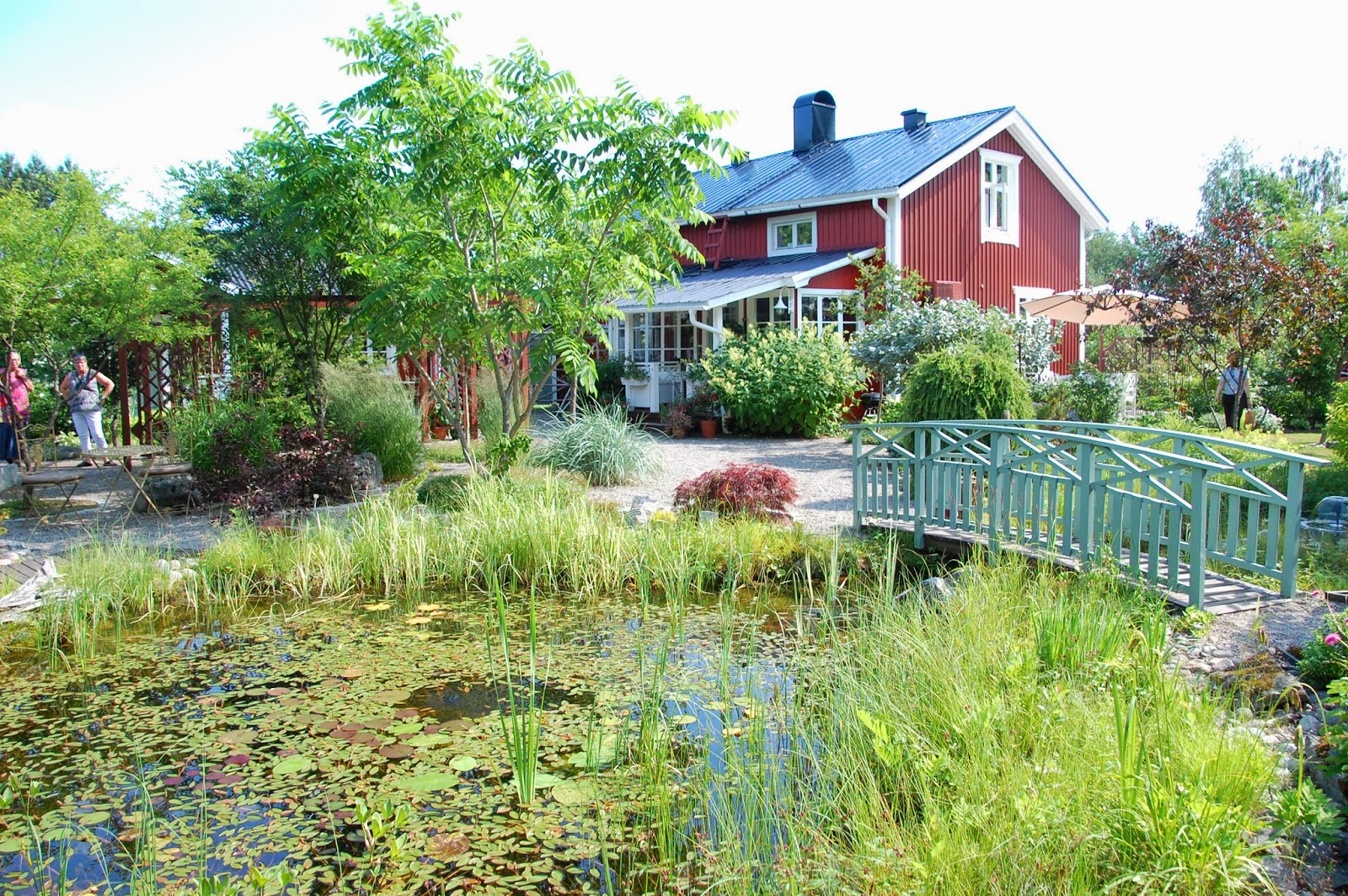 Svanå trädgård: Wennstigs trädgård i Hortlax.