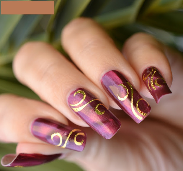 nail art design trends short