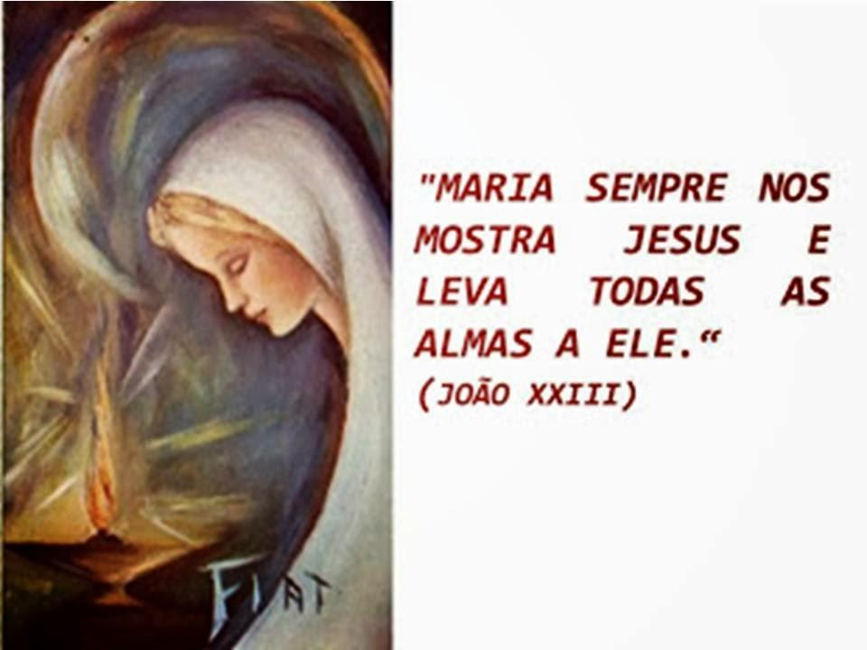 Maria Mostra Jesus