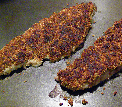 Dukkah Crusted Fish Hot From the Oven
