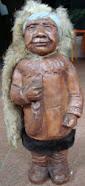 Suvenir Patung Orang Eskimo Rp290.000