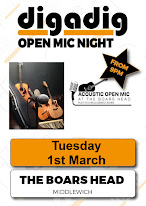 MUSIC IN MIDDLEWICH: OPEN MIKE NIGHTS AT THE BOAR'S HEAD