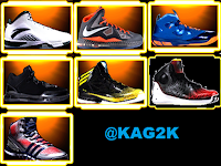 NBA 2K13 Shoes Pack