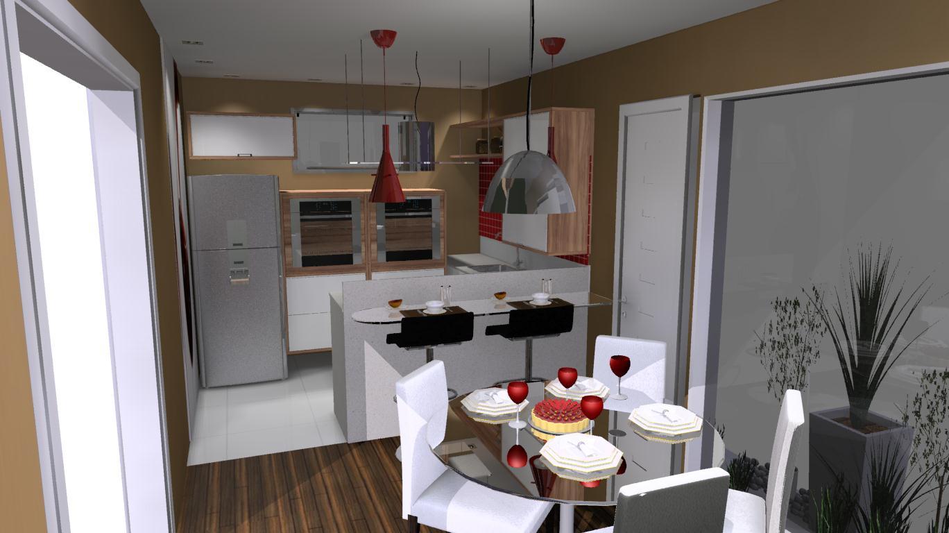 Luana  Design de Interiores: Cozinha (Loja Favorita Tijuca )Luana  #977934 1368 768