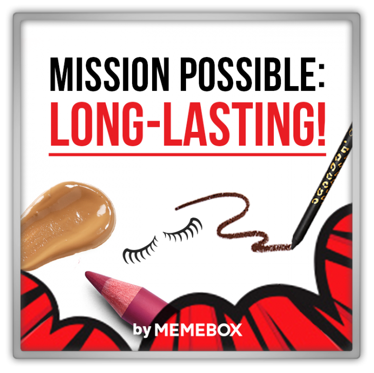 Memebox Superbox #68 Mission Possible Long-Lasting 미미박스 Commercial