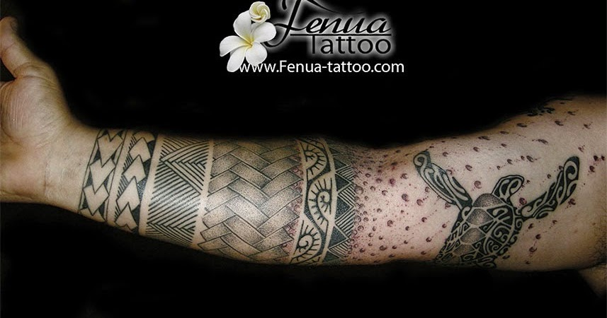 Tahiti tattoo sp cialiste du tatouage polynesien dot work et recouvrement tatouage polyn sien - Tatouage 3 points en triangle ...