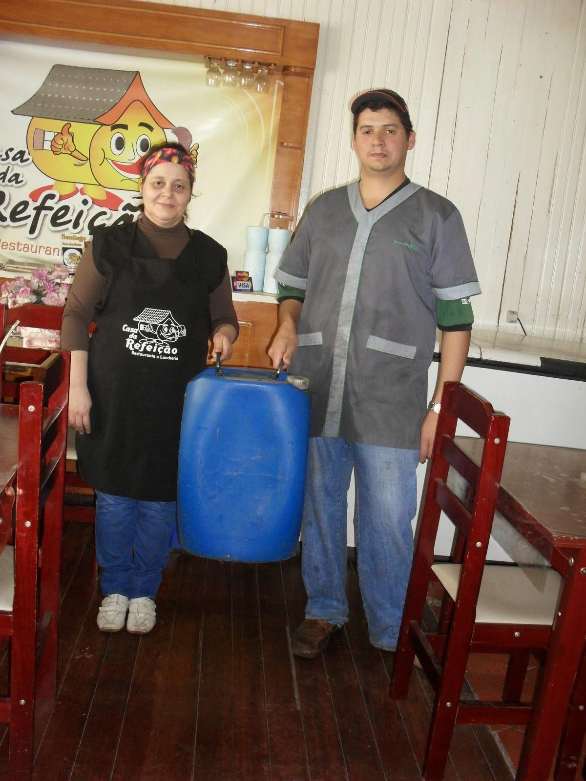 #2B5CA0 PROJETO ECO ÓLEO EM PARCERIA COM A ALTO URUGUAI RECICLAGEM DE ÓLEOS  1200x1600 px Projeto Cozinha Confeitaria #2489 imagens