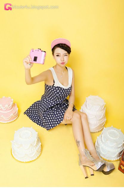 4 Lan Qi - pretty sweet fashion dress - very cute asian girl - girlcute4u.blogspot.com