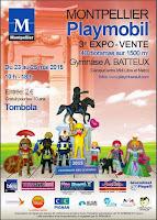 Expo-vente à Montpellier, 23, 24, 25 mai 2015