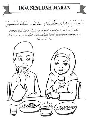 Doa Sesudah Makan Dan Minum