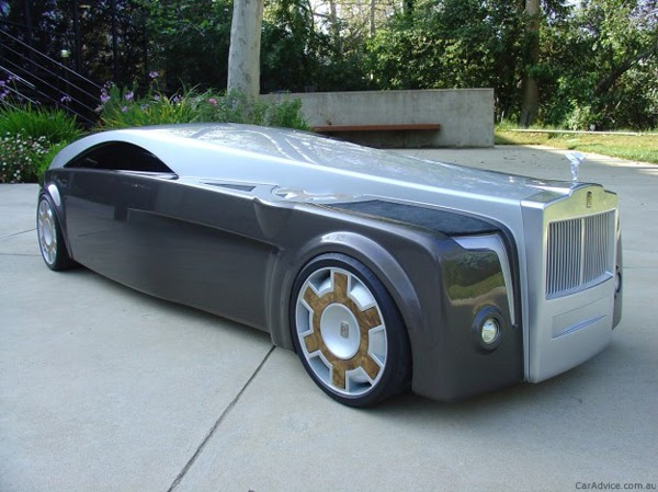 Impresionante rolls royce concept car for Rolls royce motor cars dallas