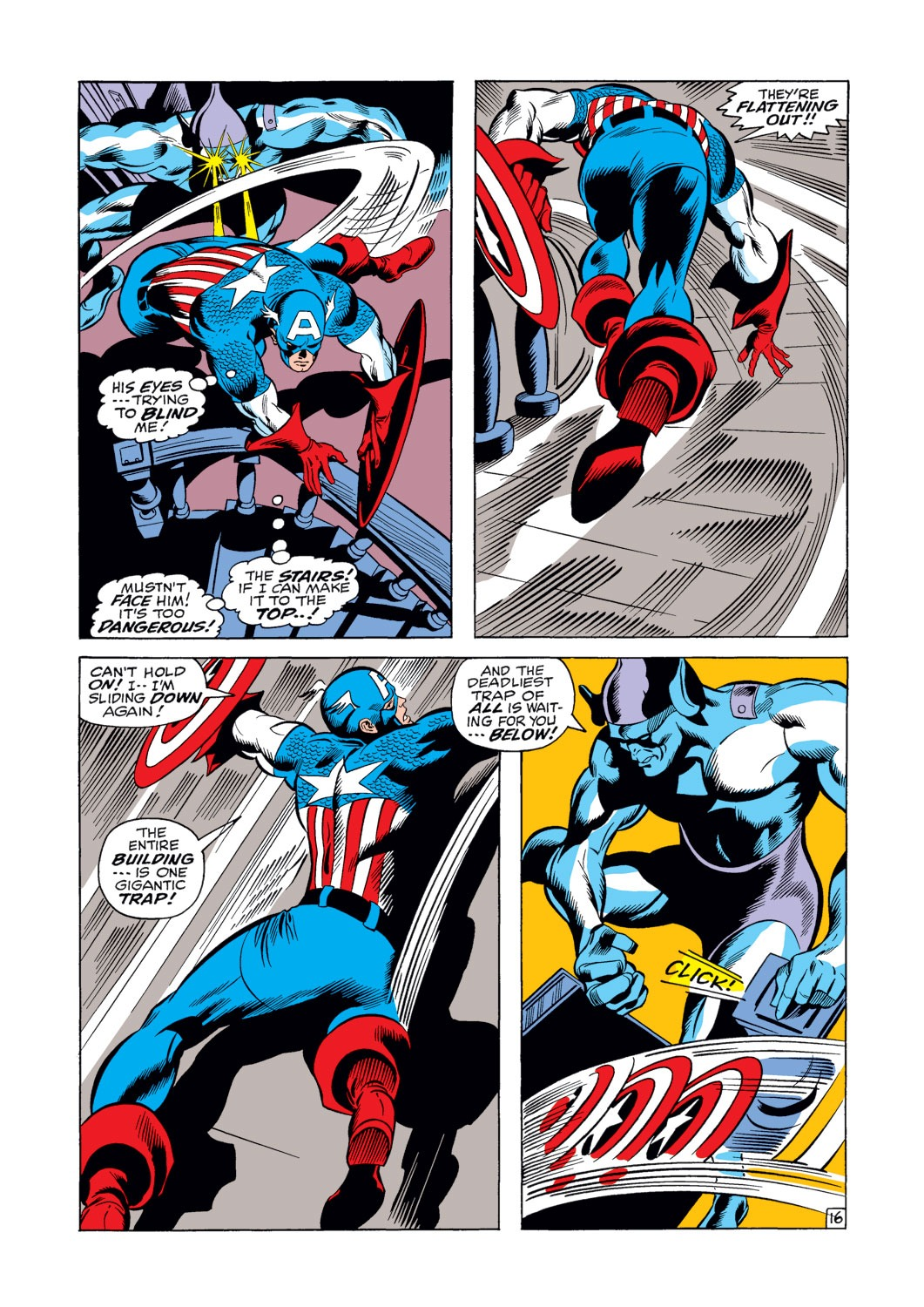 Captain America (1968) Issue #124 #38 - English 17