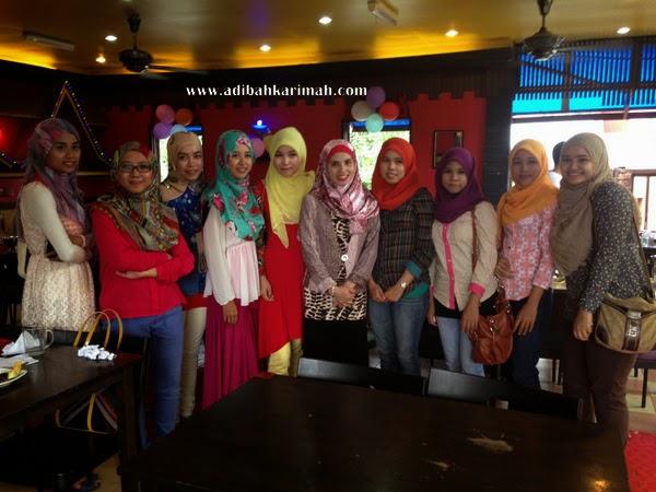 Awesomazing Team selesai projek seafood wo lai dgn team DDM Efah